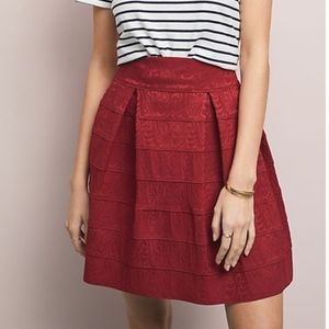 Anthropologie   Maeve   Scholastic Structure Skirt